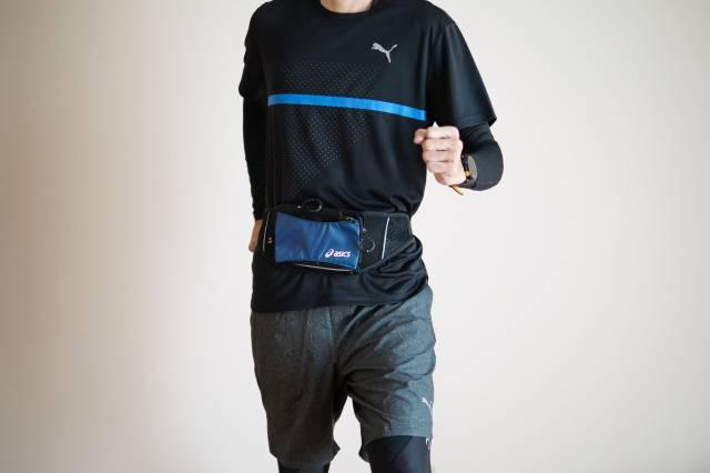 冬のマラソンの服装