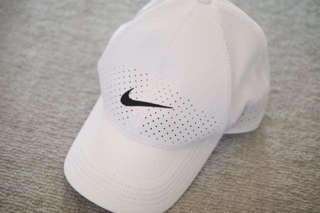 マラソンの帽子