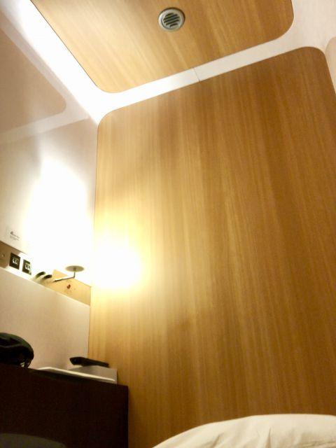 客室の天井の高さ