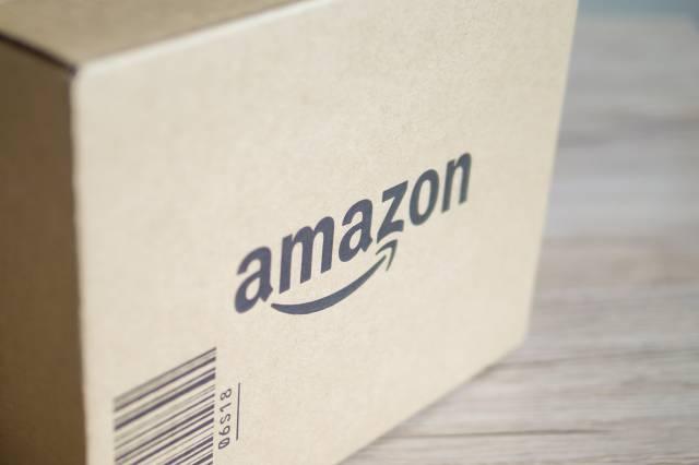 Amazonプライムの段ボール箱