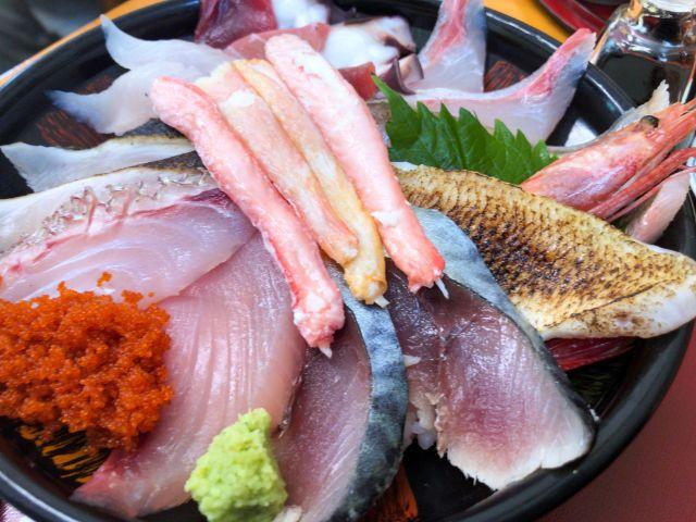 鯛喜の海鮮丼