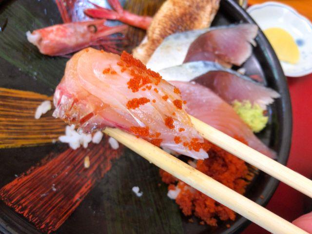海鮮丼のたい