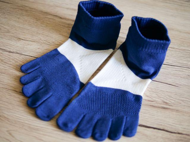 タビオのランニング用靴下「レーシングラン」