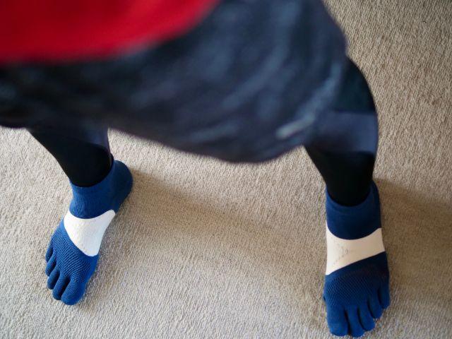 5本指靴下を使ってみた