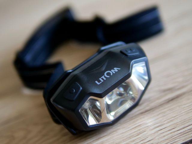 Litomの充電式LEDヘッドライト
