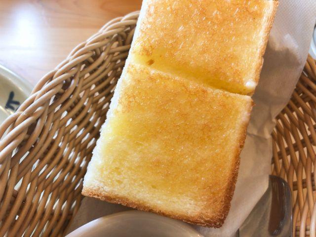 コメダの厚切りトースト