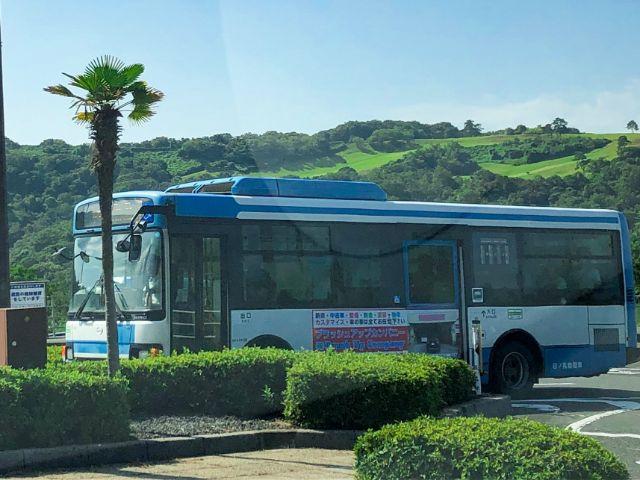 鳥取砂丘行きのバス