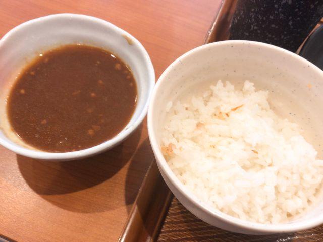 白米とカレー
