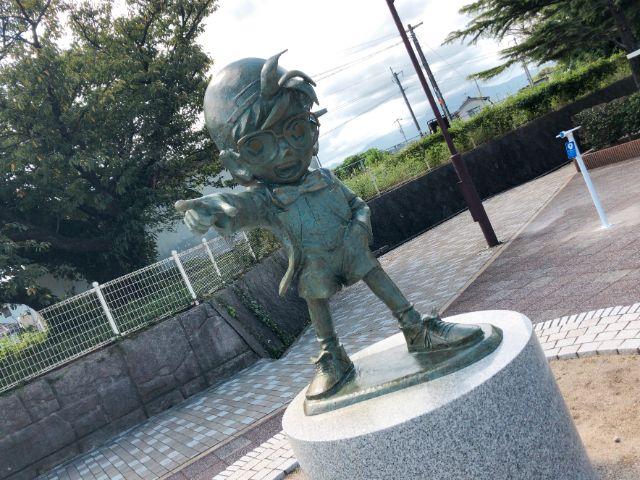 名探偵コナンのブロンズ像