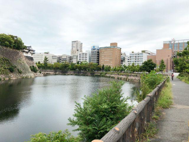 大阪城公園のランニングコース