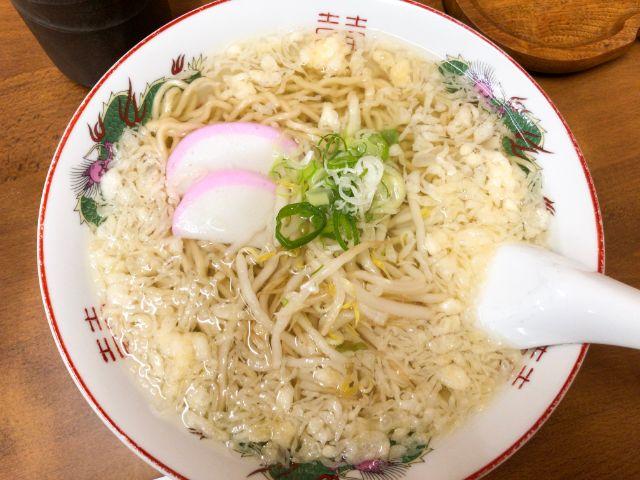 武蔵屋食堂の元祖素ラーメン