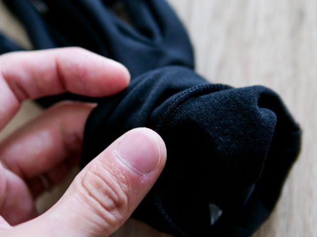 裏起毛の手袋