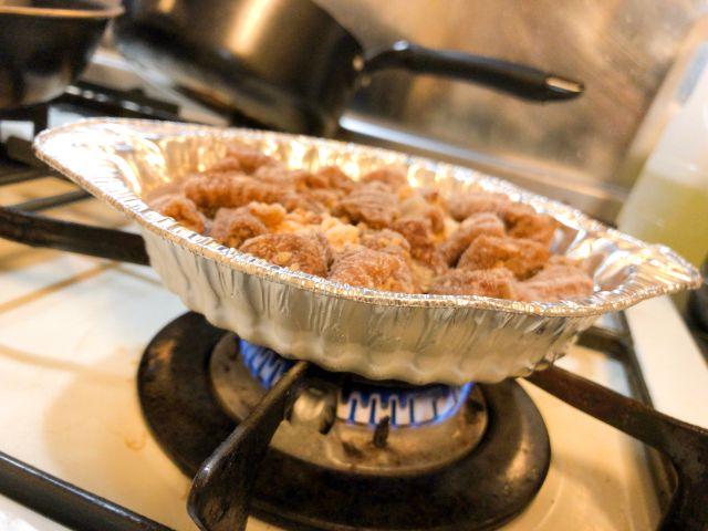 ローホルの調理の仕方③