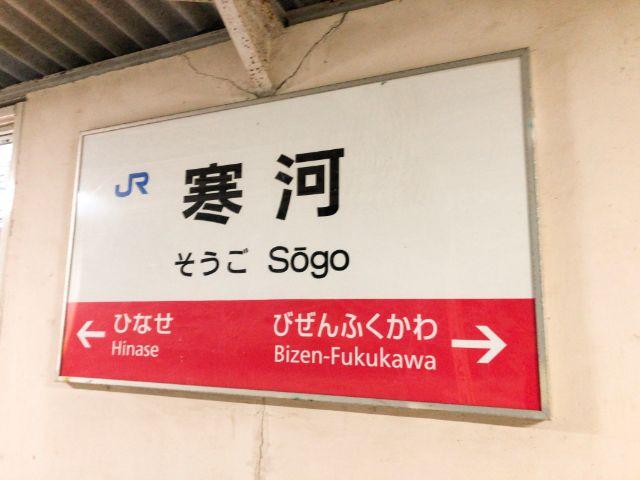 タマちゃんの最寄り駅「寒河駅」