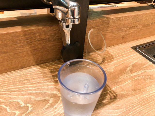セルフの水