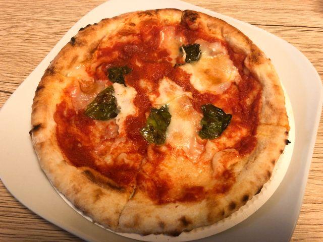sole!の人気NO.1ピザ「マルゲリータ」