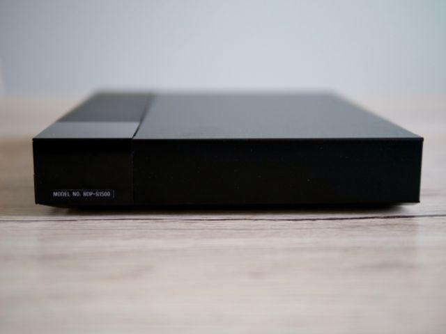 BDP-S1500の側面
