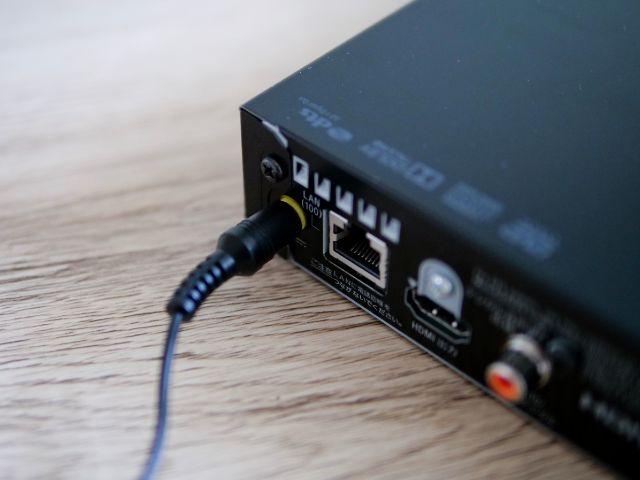BDP-S1500をテレビに接続する①