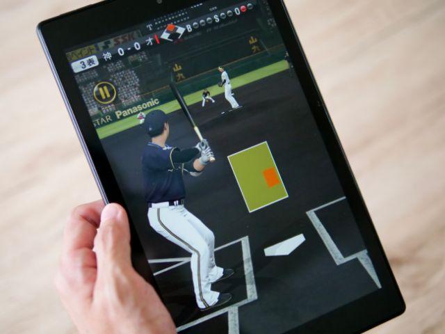Fireタブレットでプロ野球スピリッツAをプレイする