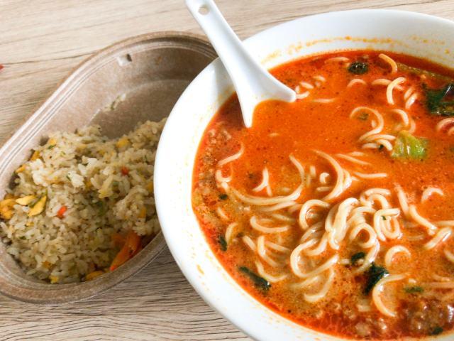担々麺と炒飯