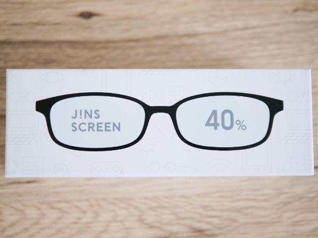 JINSのブルーライトカットメガネ