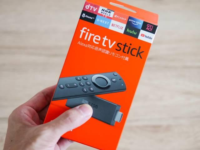Amazonで購入したFire TV Stick