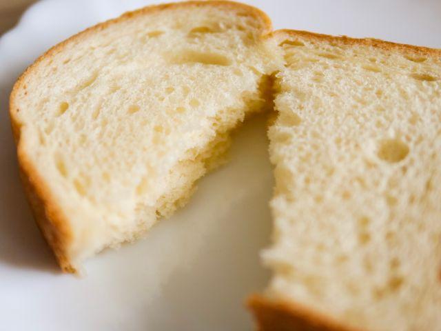 手で裂いたビール酵母パン
