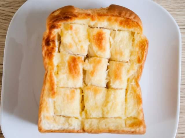 ハニートーストの作り方③