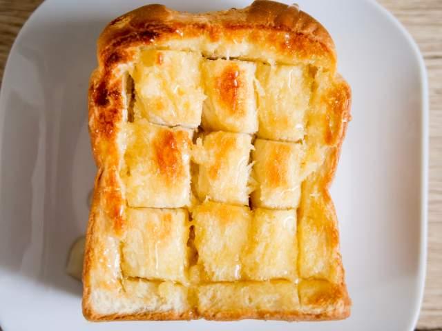 ハニートーストの作り方④