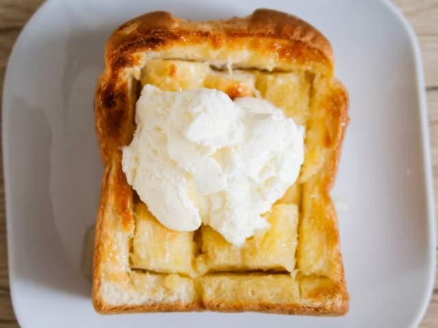 ハニートーストの作り方⑤
