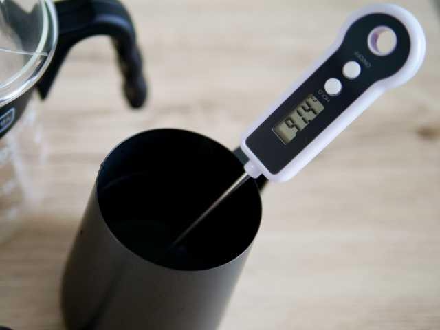 温度を測定する
