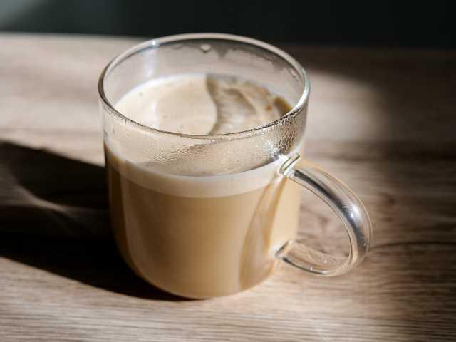 ダイソーの耐熱ガラスマグカップ