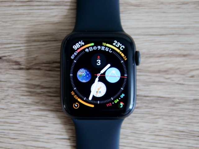 Apple Watchのコンプリケーション機能
