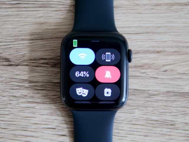 Apple Watchをマナーモードにする