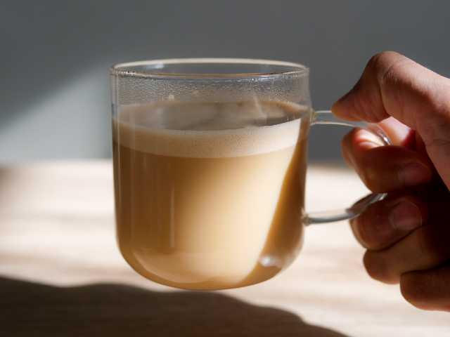 耐熱ガラスマグカップ