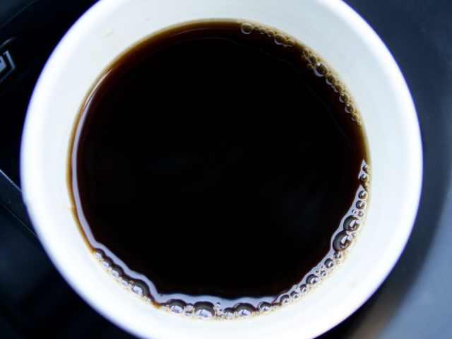 ファミマのブラックコーヒー
