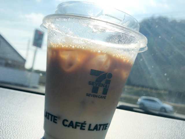 セブンのアイスコーヒー