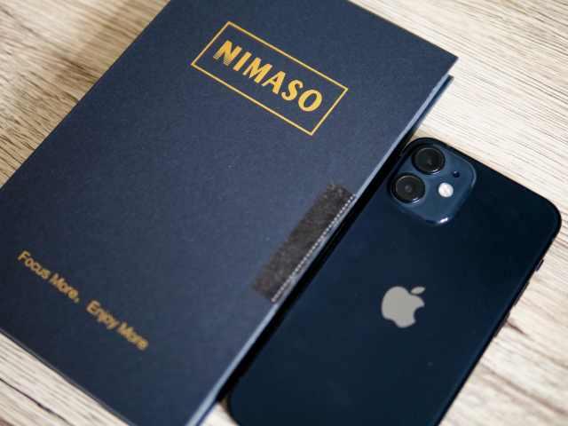 NIMASOガラスフィルムとiPhone