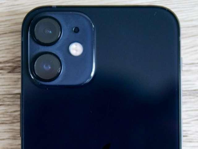 iPhone 12 miniのカメラ