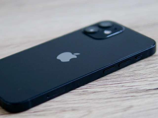 iPhone 12 miniの角張ったサイドフレーム
