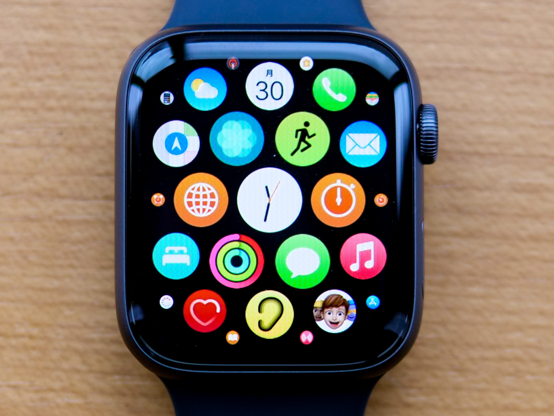 Apple Watchのアプリ