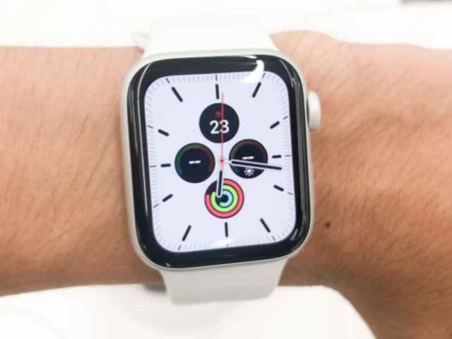 Apple Watch 40mmの装着画像