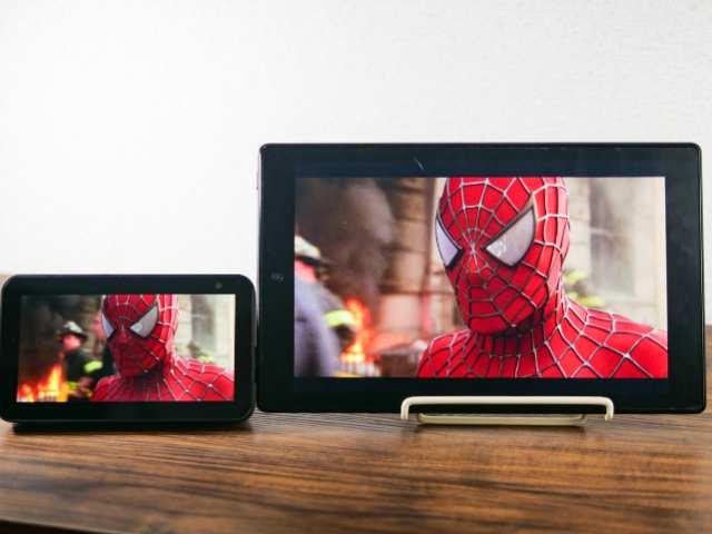 Echo Show 5とFire HD 10の画質比較