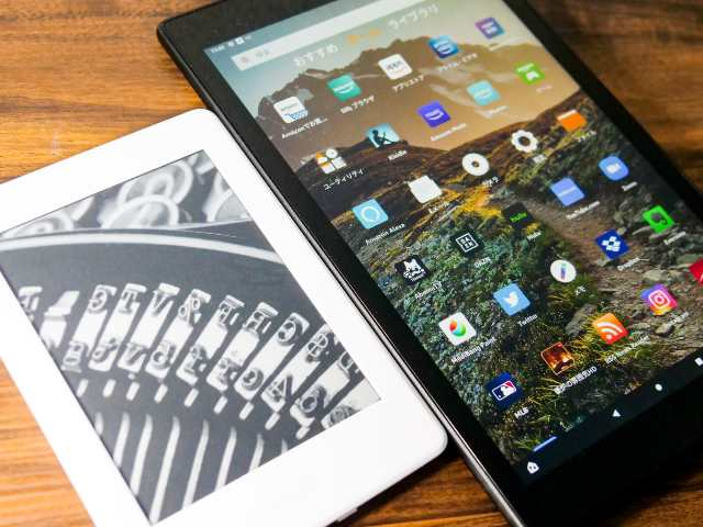 Kindle端末とFireタブレットの比較