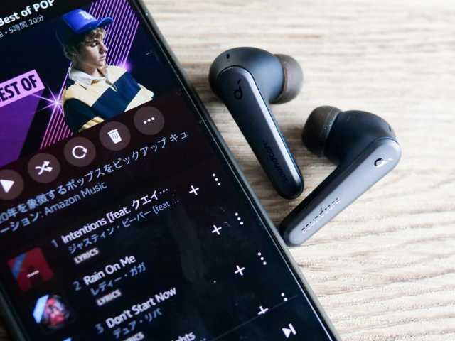 Anker Soundcore Liberty Air 2 Proで音楽を聴く