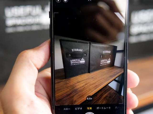 iPhone 12 miniの超広角カメラ