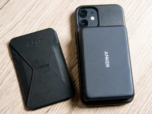 iPhone 12 miniをモバイルバッテリーでワイヤレス充電する