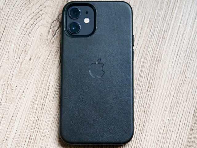 MagSafe対応iPhoneレザーケース