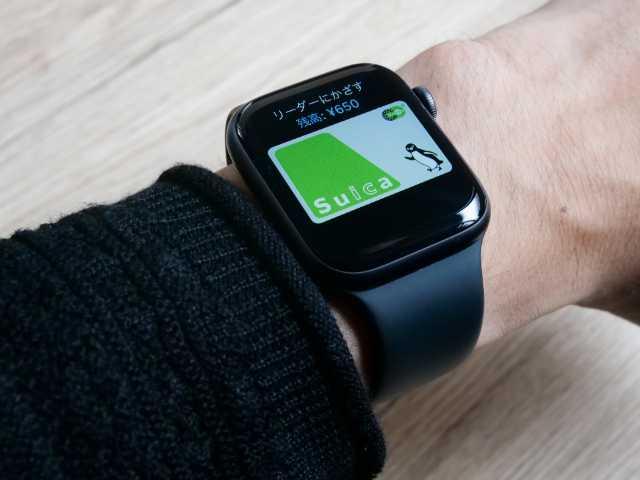 Apple Watch上のApple Pay